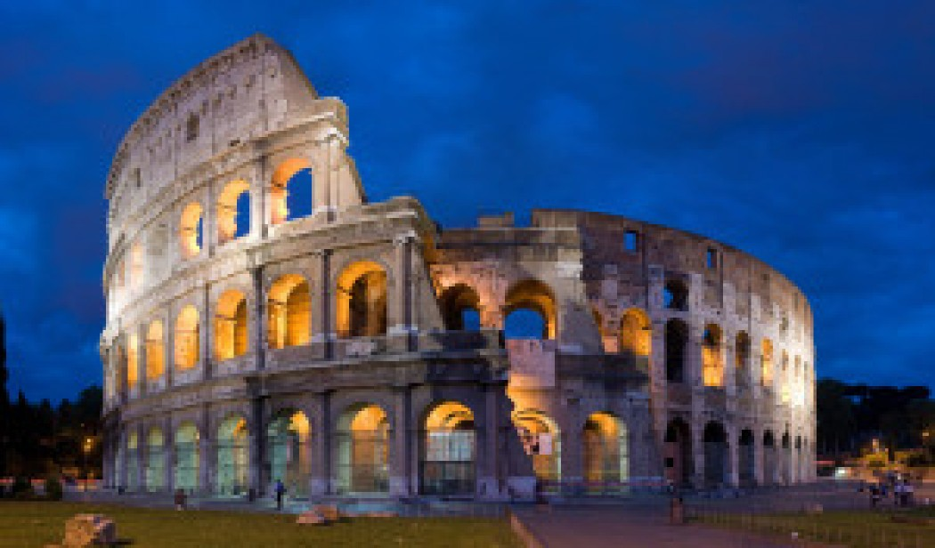 Fat Girl at Heart: Building Rome – Part 1